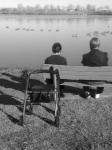 Couple at Johnston Lake: Photo by Noelle