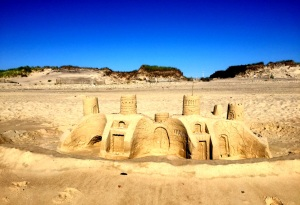 Sand castle. state Beach; Photo by Noelle